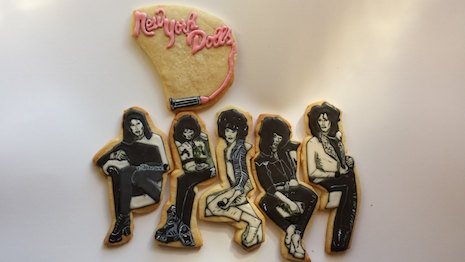 New York Dolls cookies