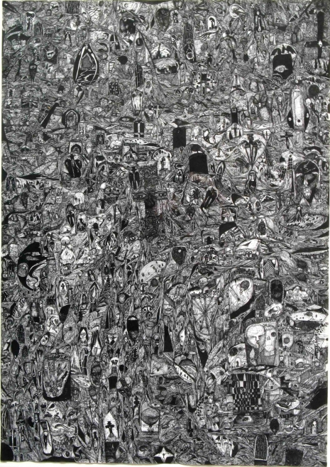 At the Mountains of Madness: Enter the chaotic worlds of Rudimentary Peni's Nick Blinko Artes & contextos nick blinko untitled 465 658 int