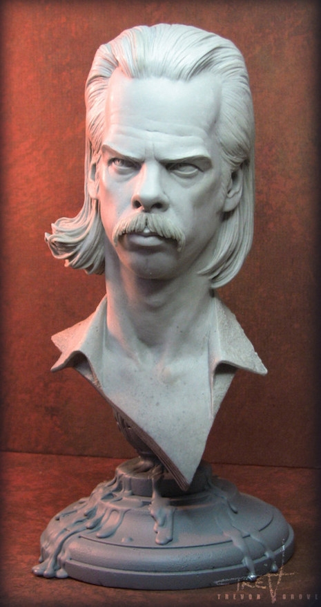 Nick Cave Grinderman era sculpture