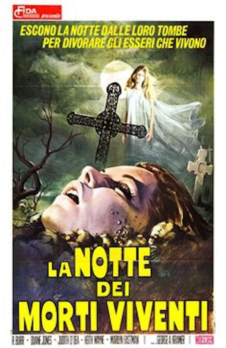 Night of the Living Dead movie poster (Italy)
