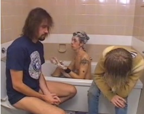 Nirvana (L-R Krist Novoselic, Dave Grohl, and Kurt Cobain)