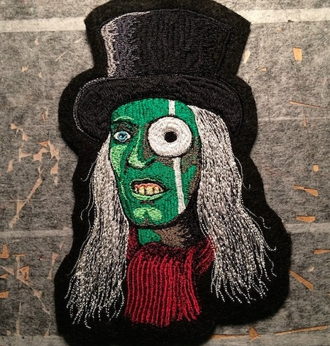 Noel Fielding as The Mighty Boosh hand made patch
