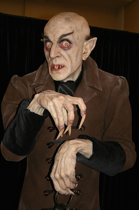 Life-sized Nosferatu sculpture by Mike Hill