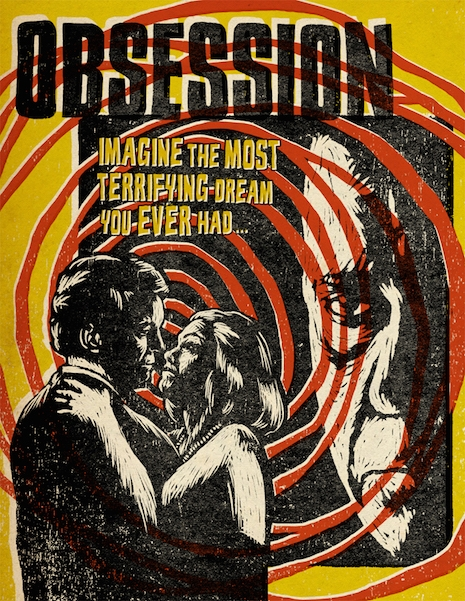 Brian DePalma's Obsession DVD/BluRay cover 2011