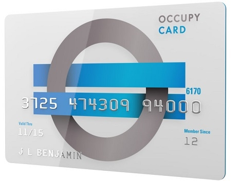 the Occupy Card