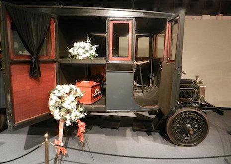 Packard funeral
