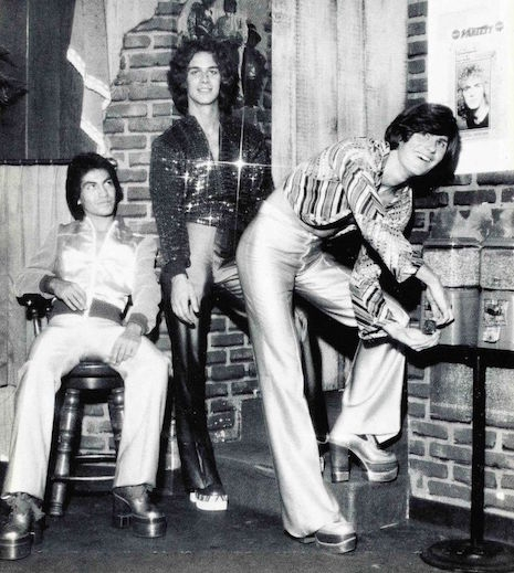 Platform boots and disco dudes, 1970s