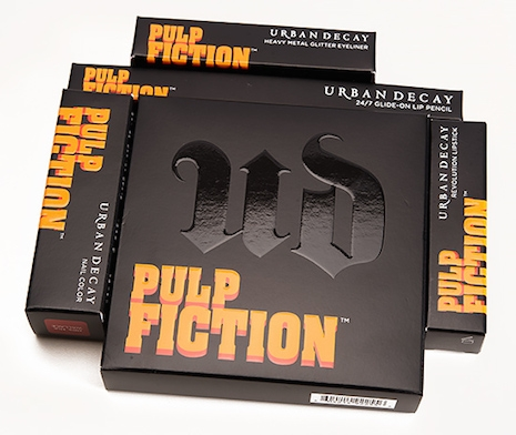 Pulp Fiction Makeup Collection by Urban Decay