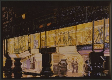 Visual Futurist: Step inside the sci-fi world created by 'Blade Runner' visionary Syd Mead  Redlightdistrictfuturelaskdjfalsdjfmead_465_332_int