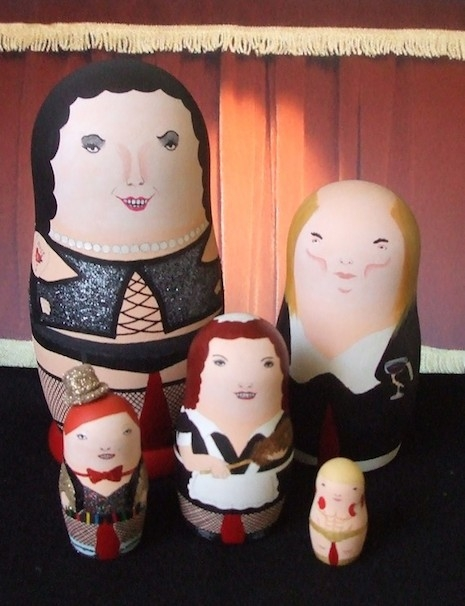The Rocky Horror Picture Show Russian nesting dolls