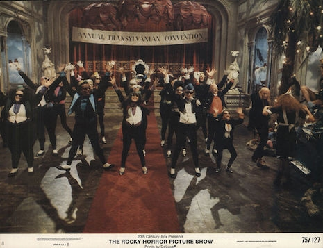 Lobby card for The Rocky Horror Picture Show, 1975