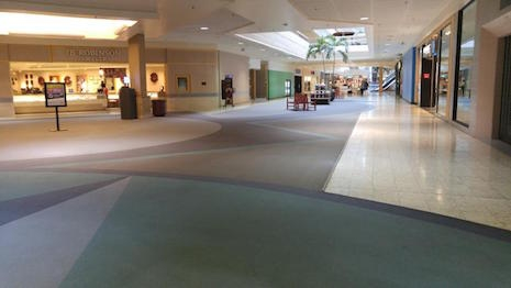 The wide open spaces of the Century III Mall, November 29th, 2014