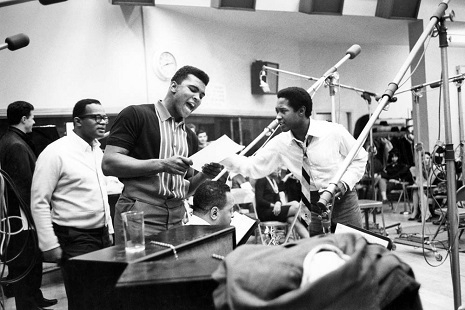 Muhammad Ali and Sam Cooke