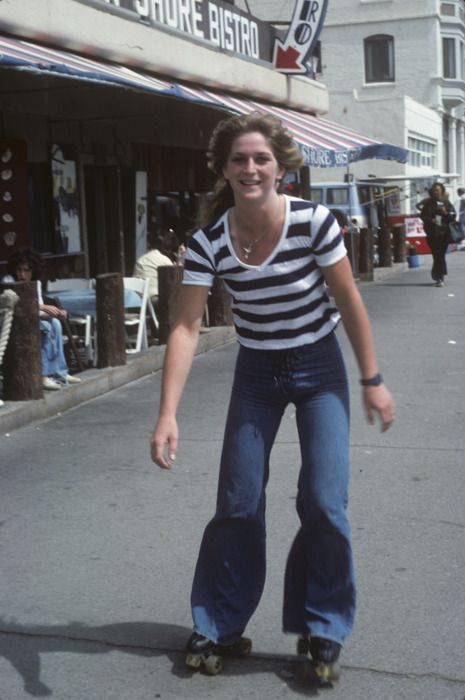 Sandy West of The Runaways, Hermosa Beach, 1977