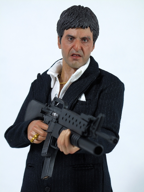 Tony Montana from Scarface, the War Version