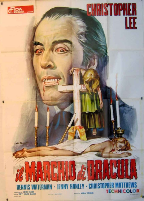 Scars of Dracula movie poster (Italy)