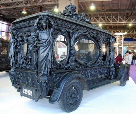 Hearse, Spain 1920s/1930s