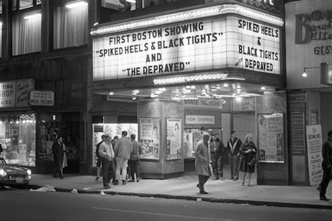 The State Theater, the Combat Zone, 1967