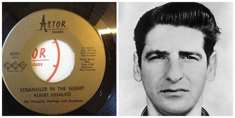 Strangler in the Night single by serial killer Albert DeSalvo (The Boston Strangler)
