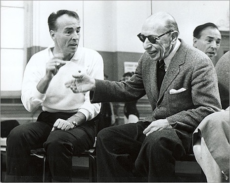 Balanchine and Stravinsky, 1957