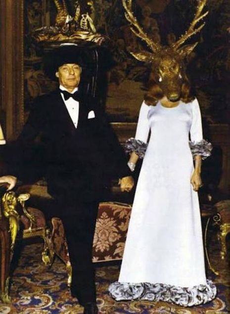 Glimpses of the extravagant Surrealist Ball of 1972  Surrealist18hosts_465_635_int