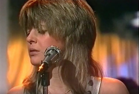 Suzi Quatro performing on