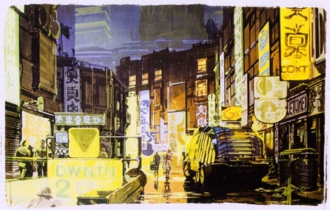 Visual Futurist: Step inside the sci-fi world created by 'Blade Runner' visionary Syd Mead  Sydmeadbladerunnerthearmadillotruckapoeijflas_465_296_int