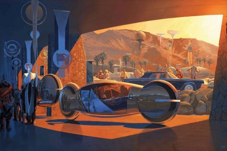Visual Futurist: Step inside the sci-fi world created by 'Blade Runner' visionary Syd Mead  Sydmeadtronconceptillustration_465_309_int