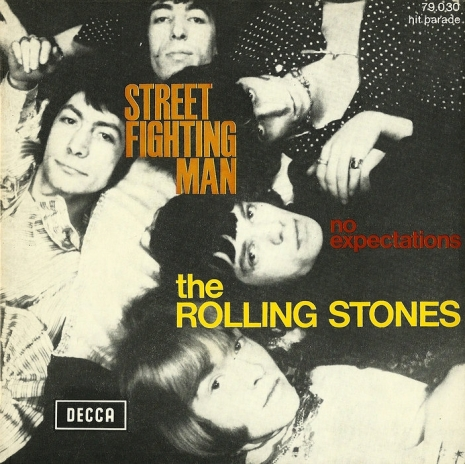Street Fighting Man - French picture sleeve