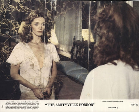 Lobby card for The Amityville Horror, 1979