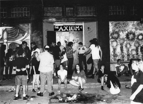 The Axiom in Houston, Texas back in the day