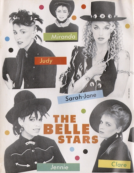 The Belle Stars Smash Hits February 3, 1983