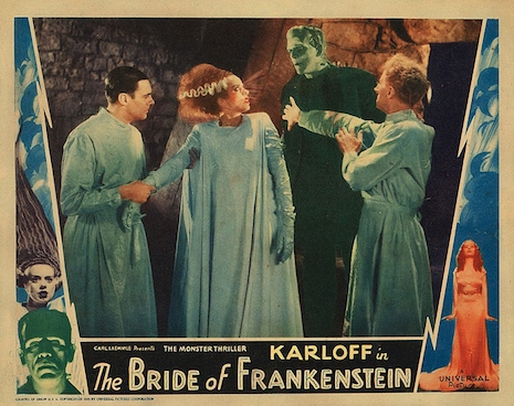 Lobby card for The Bride of Frankenstein, 1935
