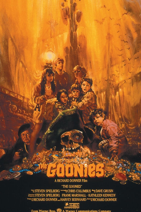 The Goonies movie poster by Noriyoshi Ohrai