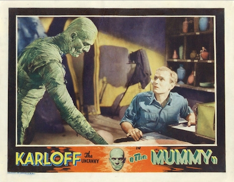 Lobby card for The Mummy, 1932