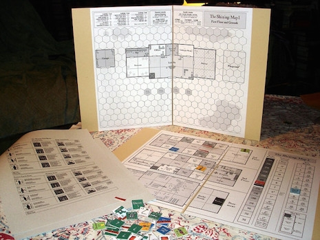 The Shining boardgame, 1998