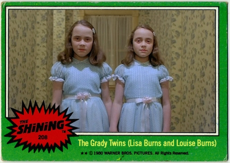 The Shining trading cards The Grady Twins