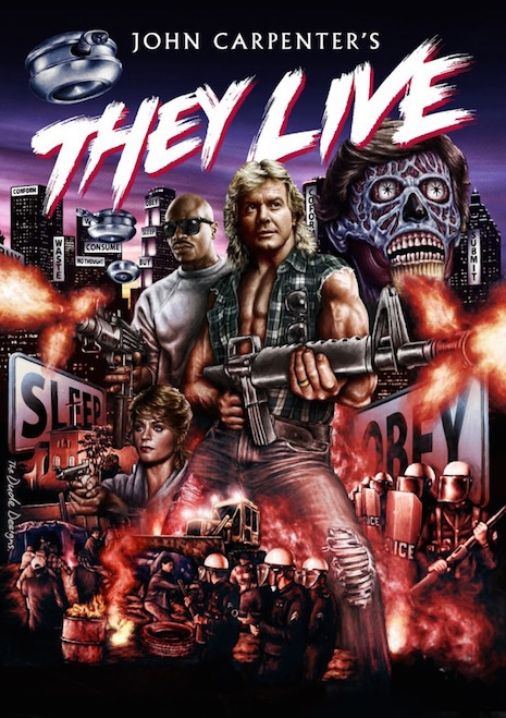 They Live BluRay box art, 2014
