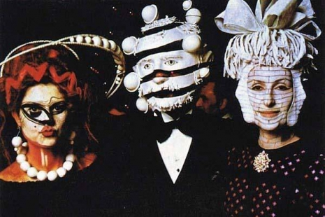 Glimpses of the extravagant Surrealist Ball of 1972  Threefaces_465_310_int