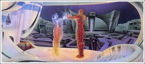 Visual Futurist: Step inside the sci-fi world created by 'Blade Runner' visionary Syd Mead  Tronsydmeada0flakdflkasdjfjsad_465_206_int