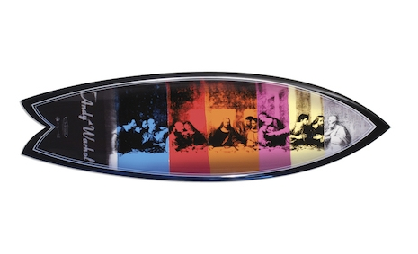 The Last Supper Andy Warhol surfboard, Series One