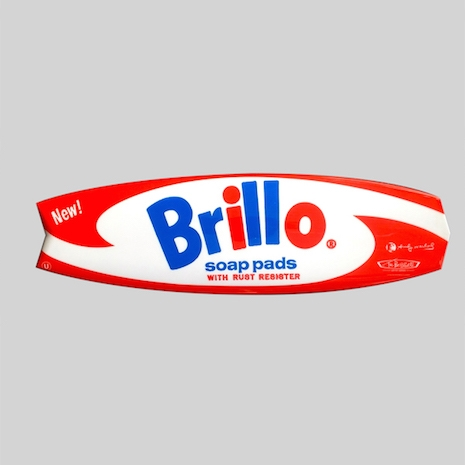 Brillo surfboard