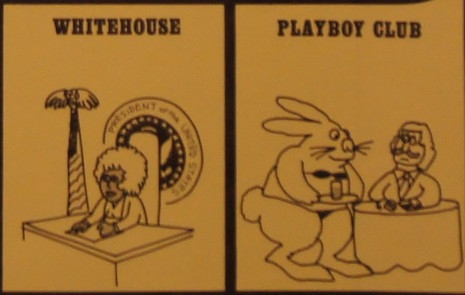 White House or Playboy Club game squares from Sexism
