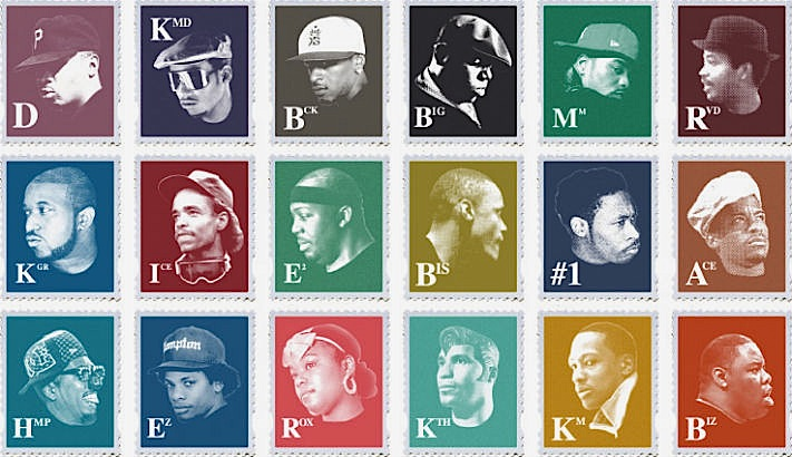 'Most of My Heroes Still Don't Appear on No Stamp': Kings and queens of hip-hop