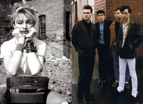 Unknown Madonna opens for The Smiths, completely fails to impress them, New Year's Eve, 1983