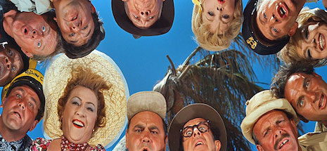 The cast from It's A Mad, Mad, Mad, Mad World (1963)