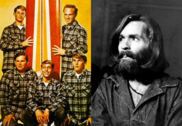 Charlie don't surf: Charles Manson meets the Beach Boys