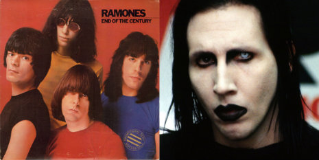 Ramones drop some truth on a little know-it-all (a young Marilyn Manson?) on Nickelodeon, 1981