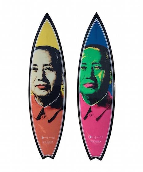 Chairman Mao Zegong surfboard