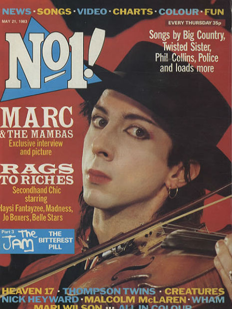 Soundtrack for a Suicide: Marc Almond's musical masterpiece, 'Torment and Toreros'